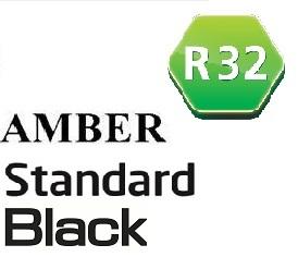 Инвертор Amber Standart Black (до -25°) фреон R32, wi-fi