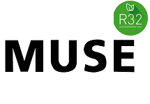 Инвертор Muse (до -15°) фреон R32, wi-fi Модели 2019 года