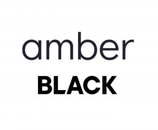 Инвертор Amber Standart Black Black (до -25°) фреон R32, wi-fi